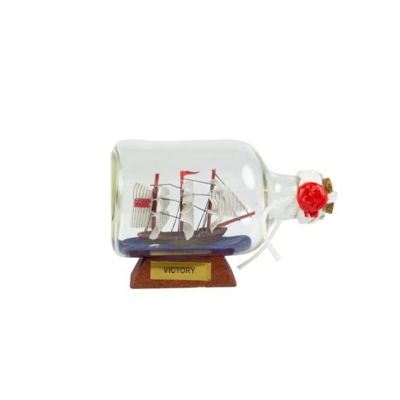 HMS Victory Ship-in-Bottle, 9cm