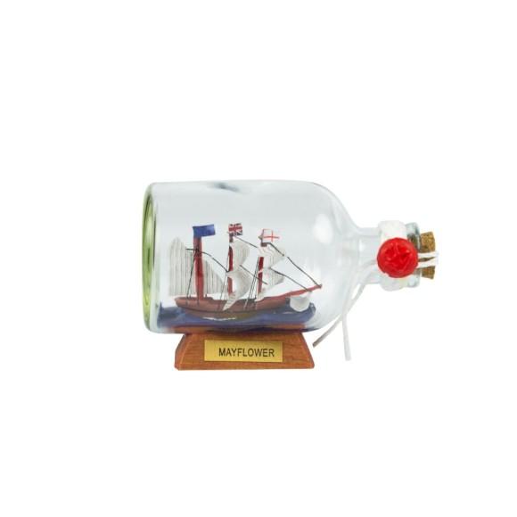 Mayflower Ship-in-Bottle, 9cm