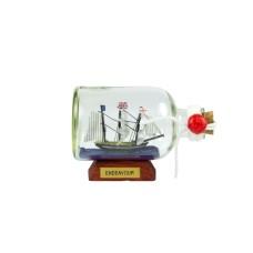 HMS Endeavour Ship-in-Bottle, 9cm