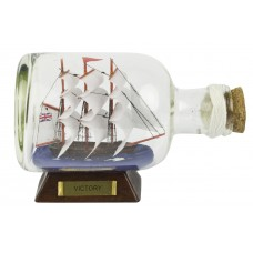 HMS Victory Ship-in-Bottle, 14cm