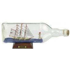 Cutty Sark Ship-in-Bottle, 28cm