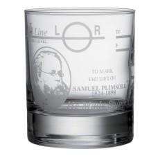 Plimsoll Line Whisky Tumbler 220ml