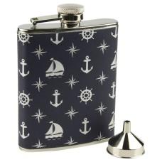 Nautical Hip Flask