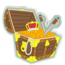 Rubber Treasure Chest Magnet