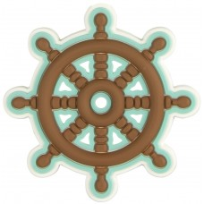 Rubber Ship's Wheel Magnet