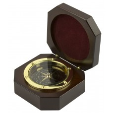 Compass in Wooden Box