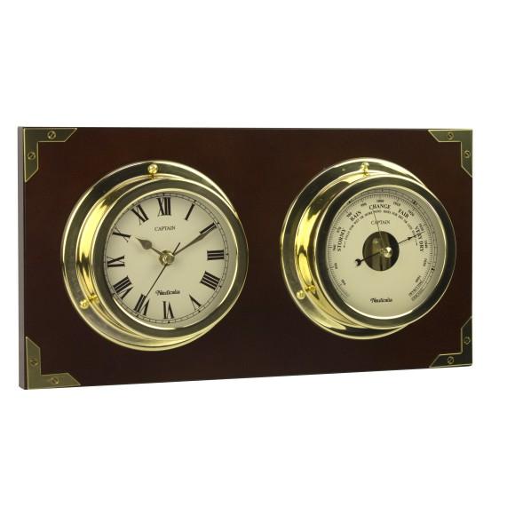 Captain Clock and Barometer Set