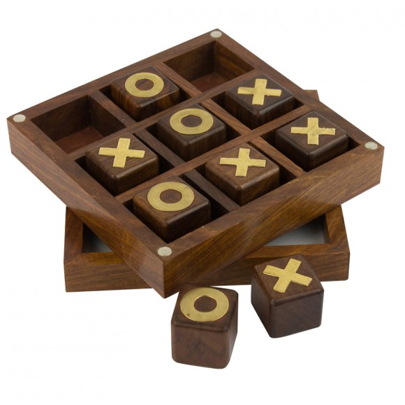 Naval-style Noughts & Crosses Game, 12cm