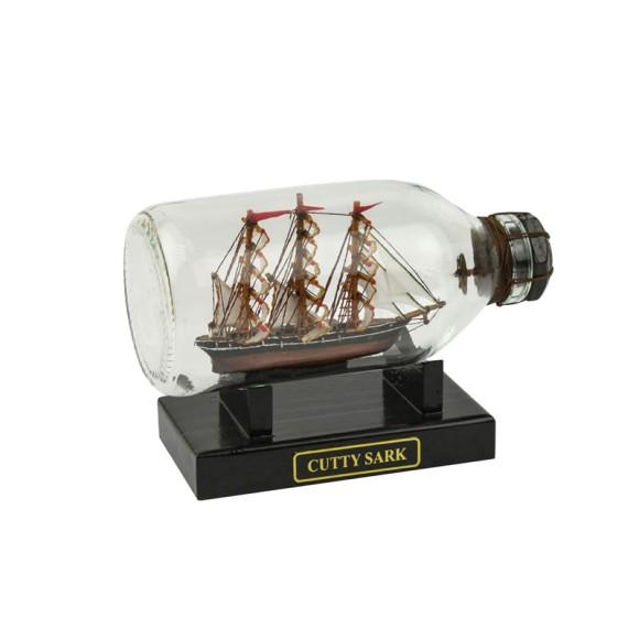 Cutty Sark Ship in Bottle, 14cm