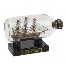 Cutty Sark Ship in Bottle, 19cm