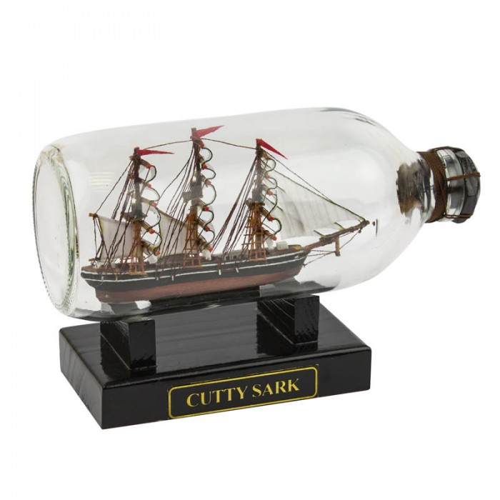 Cutty Sark Ship in Bottle, 19cm from Nauticalia - the marine