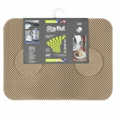 Stay Put Tablemats (6), taupe