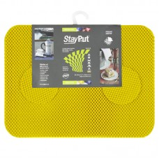 Stay Put Tablemats (6), yellow