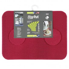 Stay Put Tablemats (6), red
