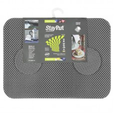 Stay Put Tablemats (6), grey