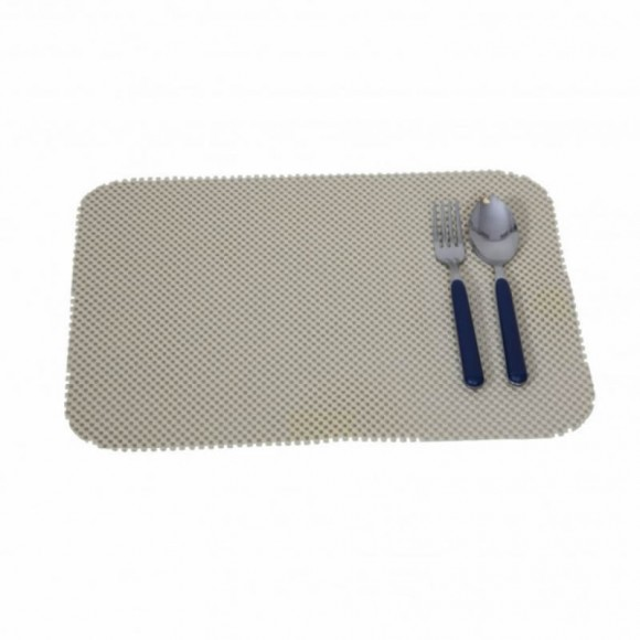 Stay Put Placemat (1), almond