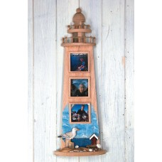 Lighthouse-shaped Photo Frames (3), 60cm