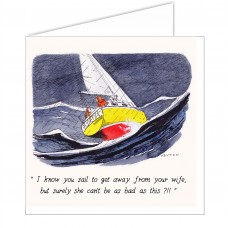 Peyton Card - I know you sail