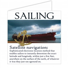 Sailing Card - Navigation
