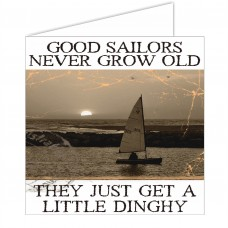 Salty Saying Card - Good sailors...