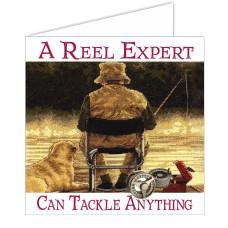 Fishy Tales Card - A reel expert...