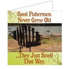 Fishy Tales Card - Good fishermen...