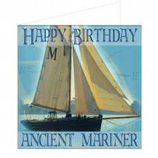 Salty Saying Card - Ancient Mariner