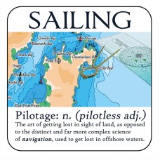 Coaster - Salty Saying - Pilotage