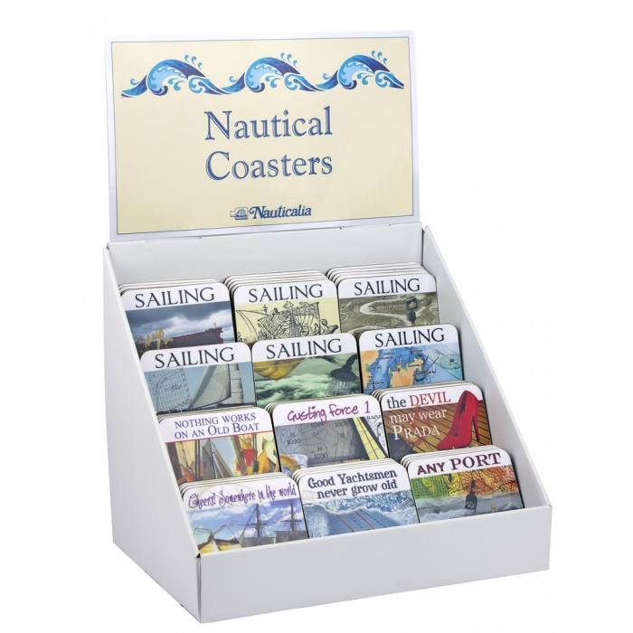 Coaster Display Stand From Nauticalia