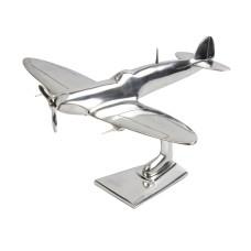 Aluminium Spitfire Sculpture, 29cm
