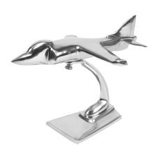 Aluminium Sea Harrier Sculpture, 20cm
