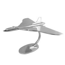 Aluminium Vulcan Sculpture, 77cm wingspan
