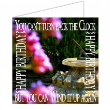Greeting Card - Turn Back The Clock