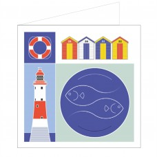 All at Sea Card - Seaside Stuff