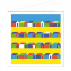 All at Sea Card - English Rows Beach Huts