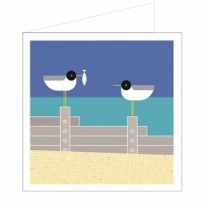 All at Sea Card - Pecking Order