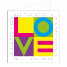 All at Sea Card - All You Need Is Love