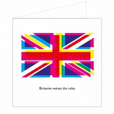 All at Sea Card - Britannia Waives The Rules