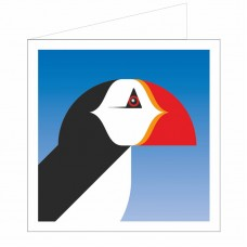All at Sea Card - Pensive Puffin