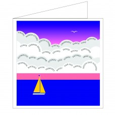 All at Sea Card - Shipping Forecast