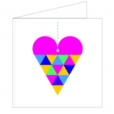 All at Sea Card - Heart on a String