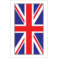 Boat Sticker - Union Flag (S)