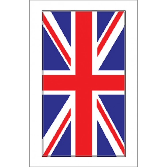Boat Sticker - Union Flag (S)