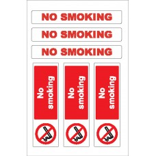 Boat Sticker - No smoking (L)