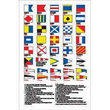 Boat Sticker - Code flags (L)