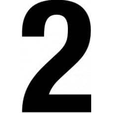 38mm numerals - 2