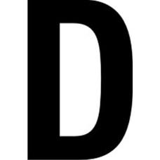 65mm letters - D