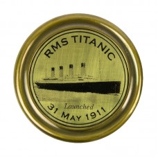 RMS Titanic Tribute Compass, brass