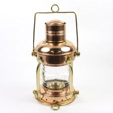 Copper Electric Anchor Lamp, 30cm