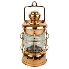 Copper Nelson Electric Lamp, 33cm